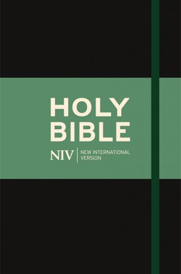 NIV Thinline Bible Black Clothbound